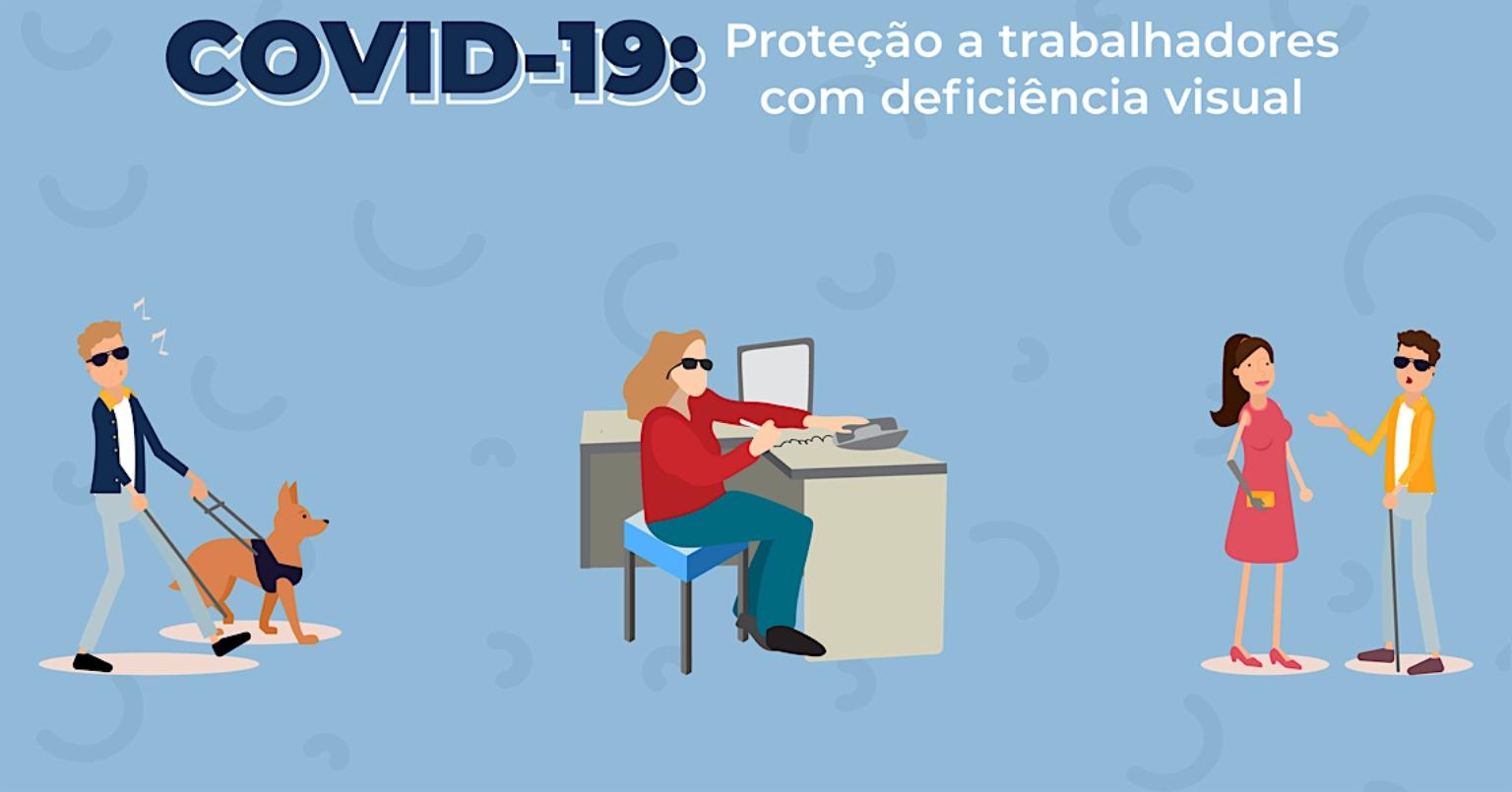 Conselho Distrital de Defesa e Promoção dos Direitos Humanos recomenda trabalho a distância para pessoas com deficiência visual