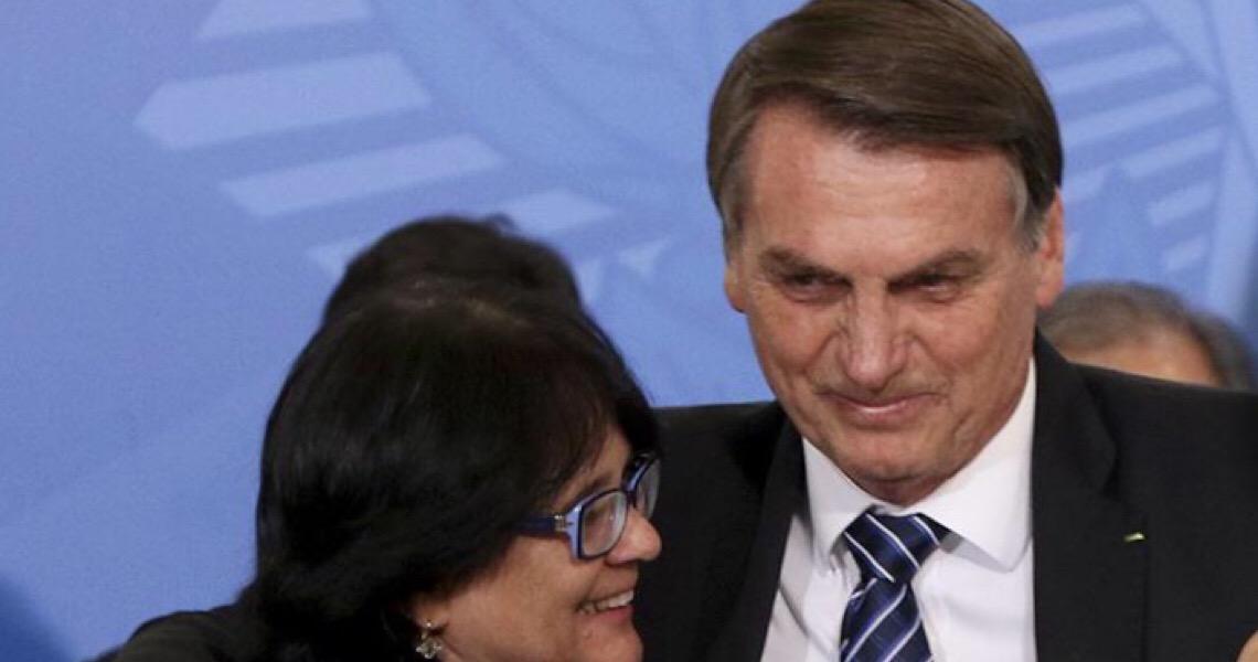 Bolsonaro liquida ação do Estado brasileiro de combate ao abuso de crianças