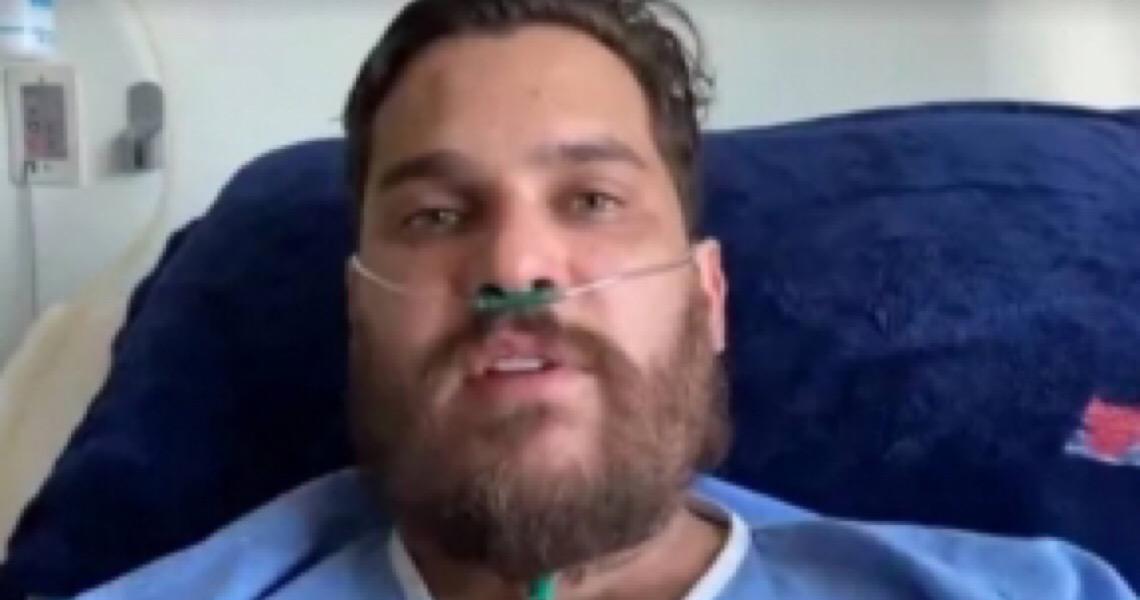 'Pensava que se morresse era vantagem', diz Cauan sobre covid-19