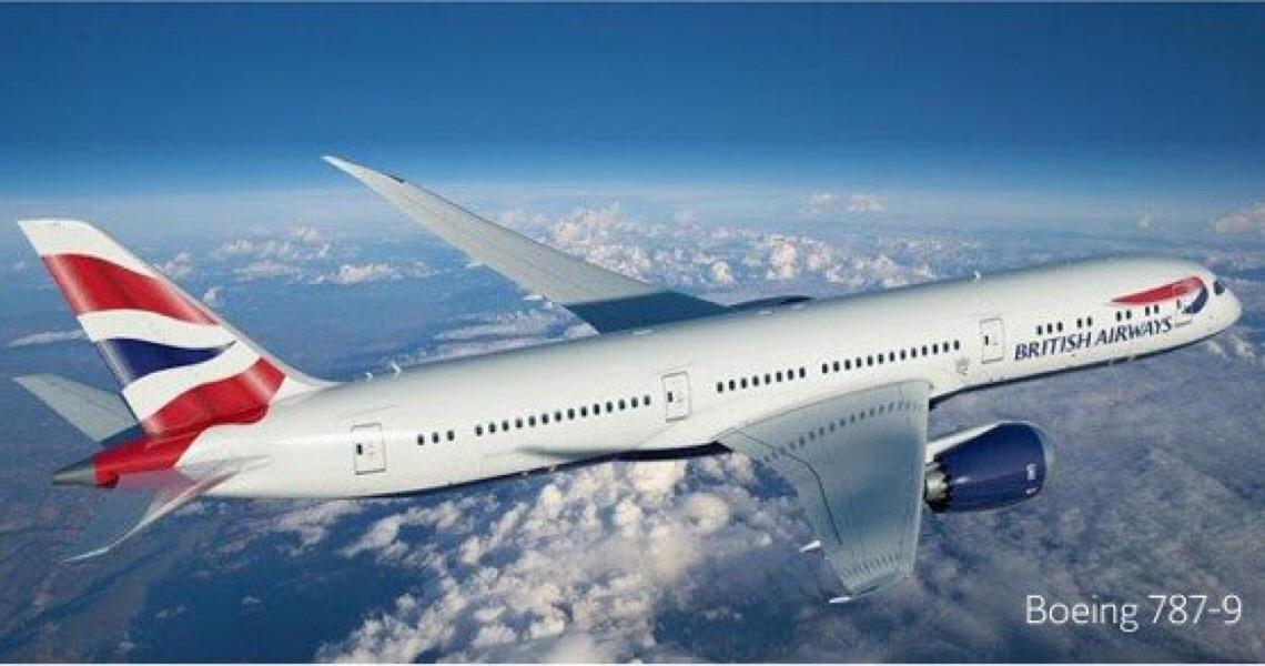 British Airways aumenta de três para sete frequências no Brasil