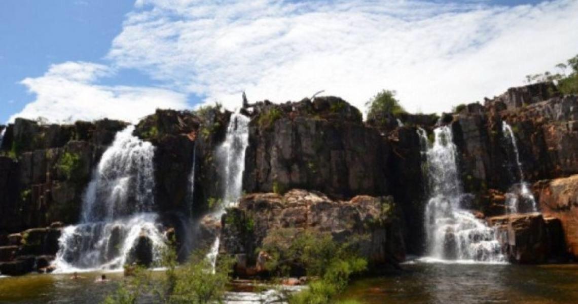 Região da Catarata dos Couros, na Chapada, é transformada em parque