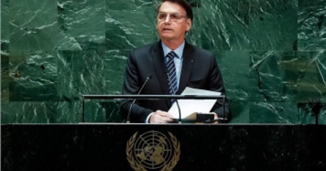 Bolsonaro vai rebater críticas em discurso na Assembleia-Geral da ONU