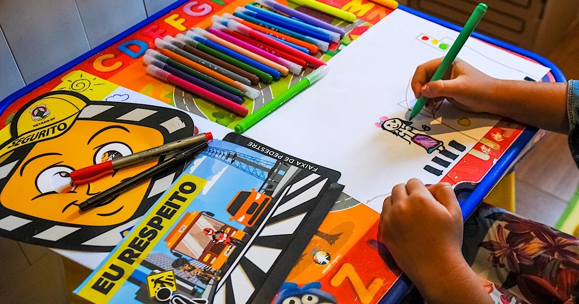 Polícia Militar do DF promove 1º Concurso de Desenhos Infantis sobre Educação no Trânsito