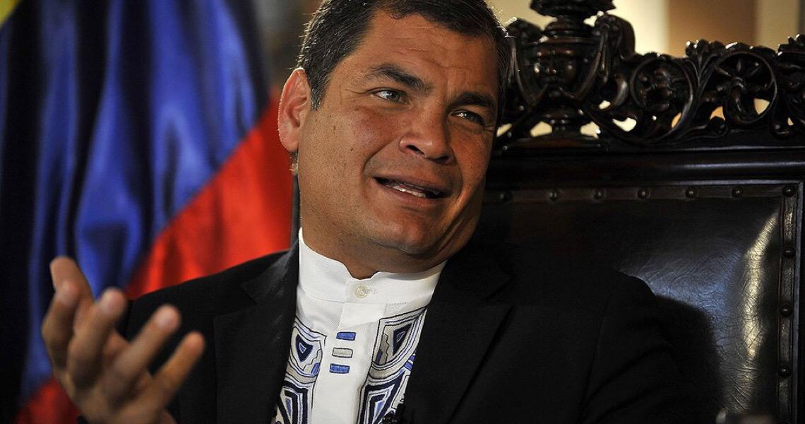 Justiça do Equador ordena captura imediata de Rafael Correa