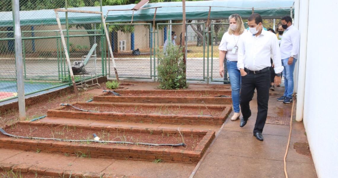 Horta, pedagogia e consciência ambiental em um só projeto