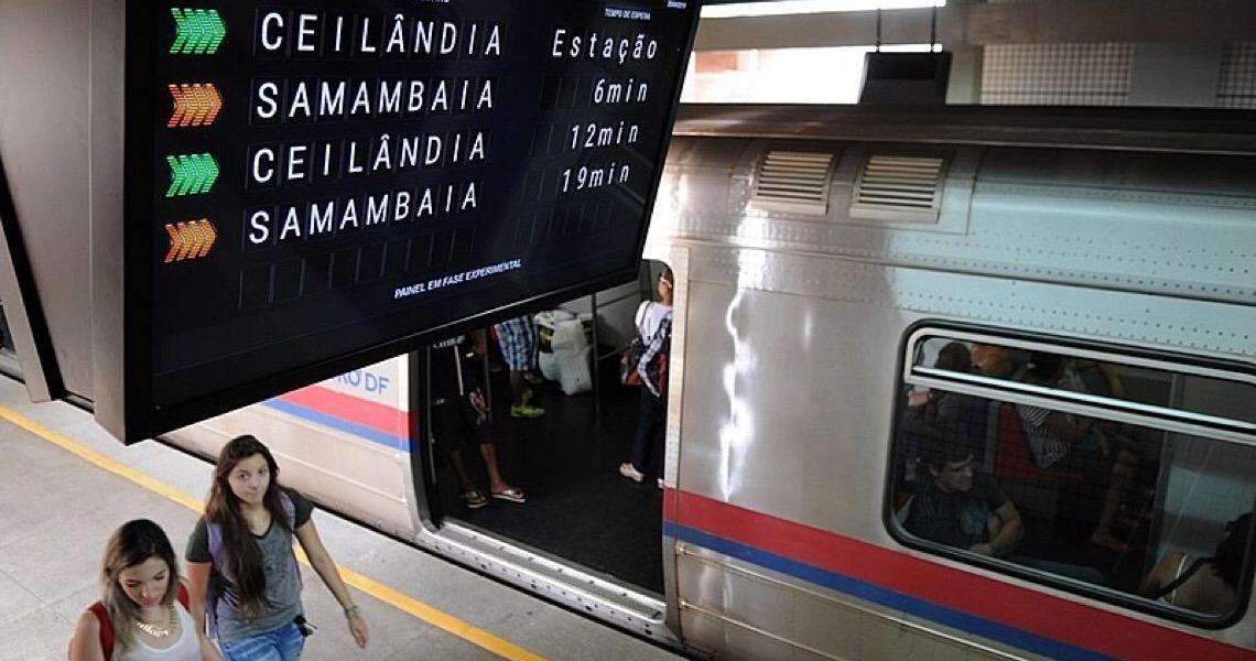 Privatização do metrô no DF gera alerta de aumento de tarifas e perda de empregos