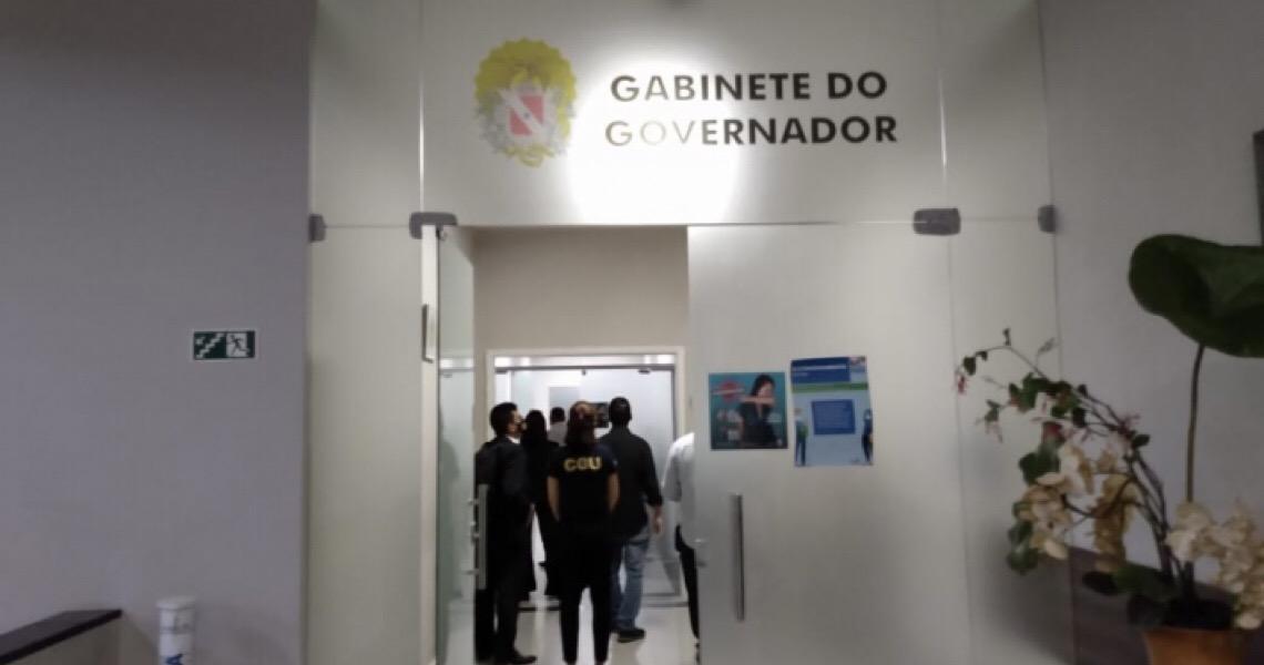 PF faz buscas no gabinete de Hélder Barbalho em operação sobre desvios em contratos de RS 1,2 bi da Saúde
