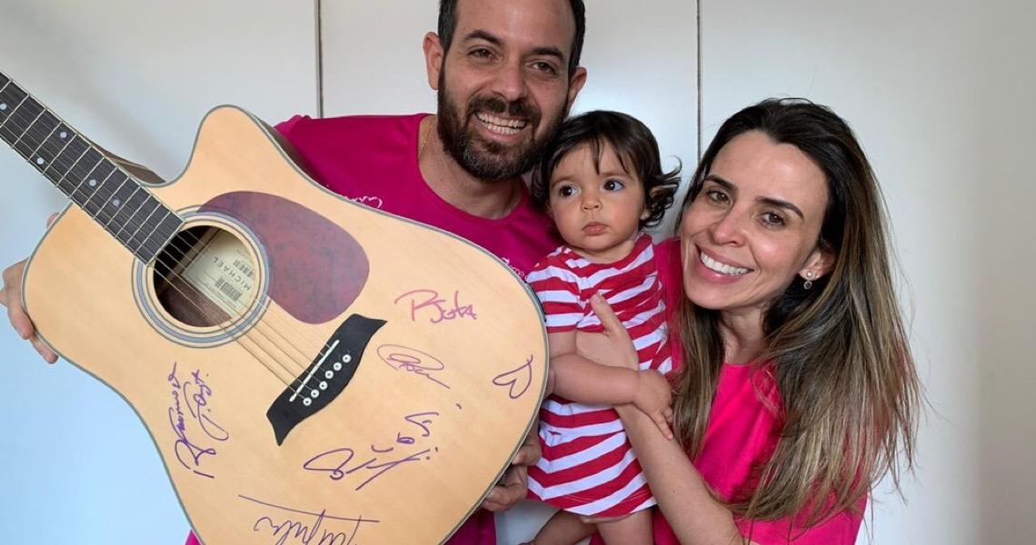 Professores de música do DF lançam campanha para ajudar Kyara Lis a conseguir 'remédio mais caro do mundo'