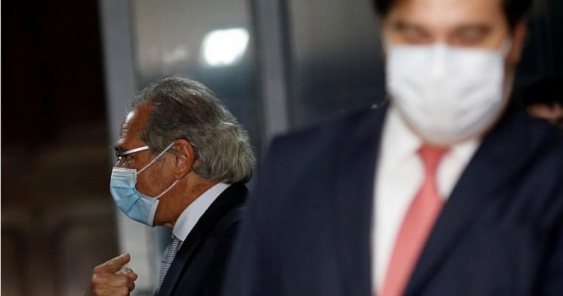 Guedes acusa Maia de acordo com a esquerda contra privatizações; Maia rebate: 'Está desequilibrado'