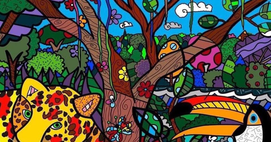 Romero Britto junta-se à ONU para promover biodiversidade brasileira