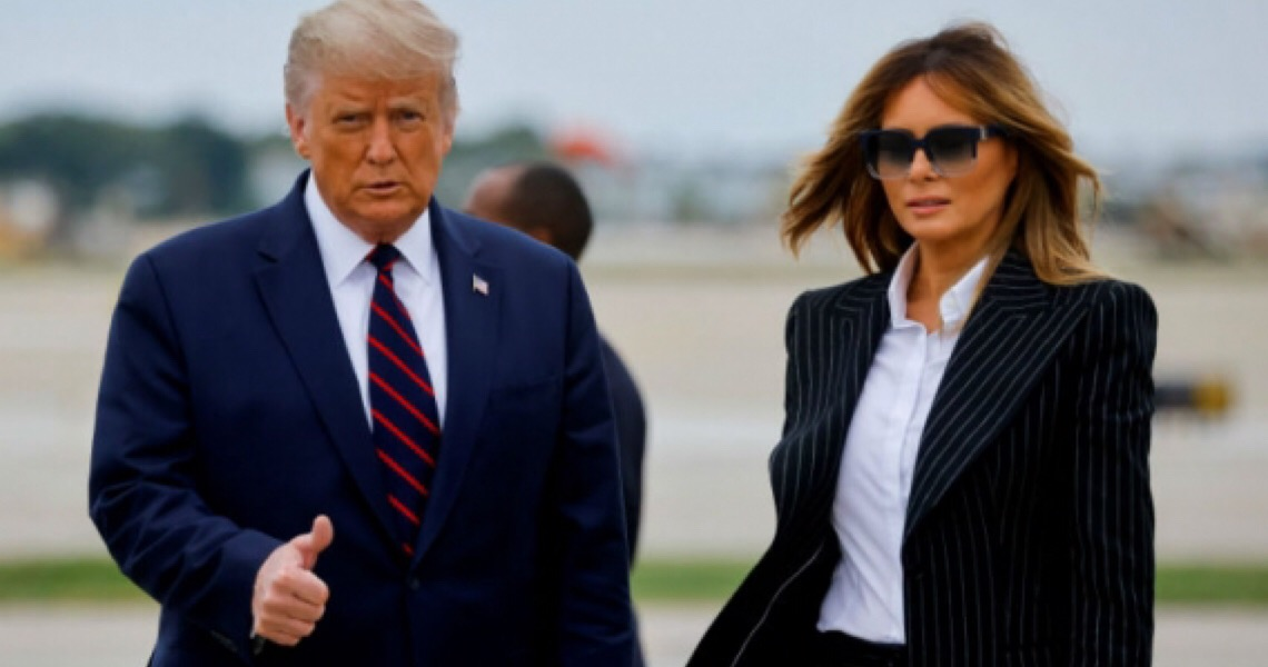 Donald Trump e primeira-dama Melania testam positivo para o novo coronavírus