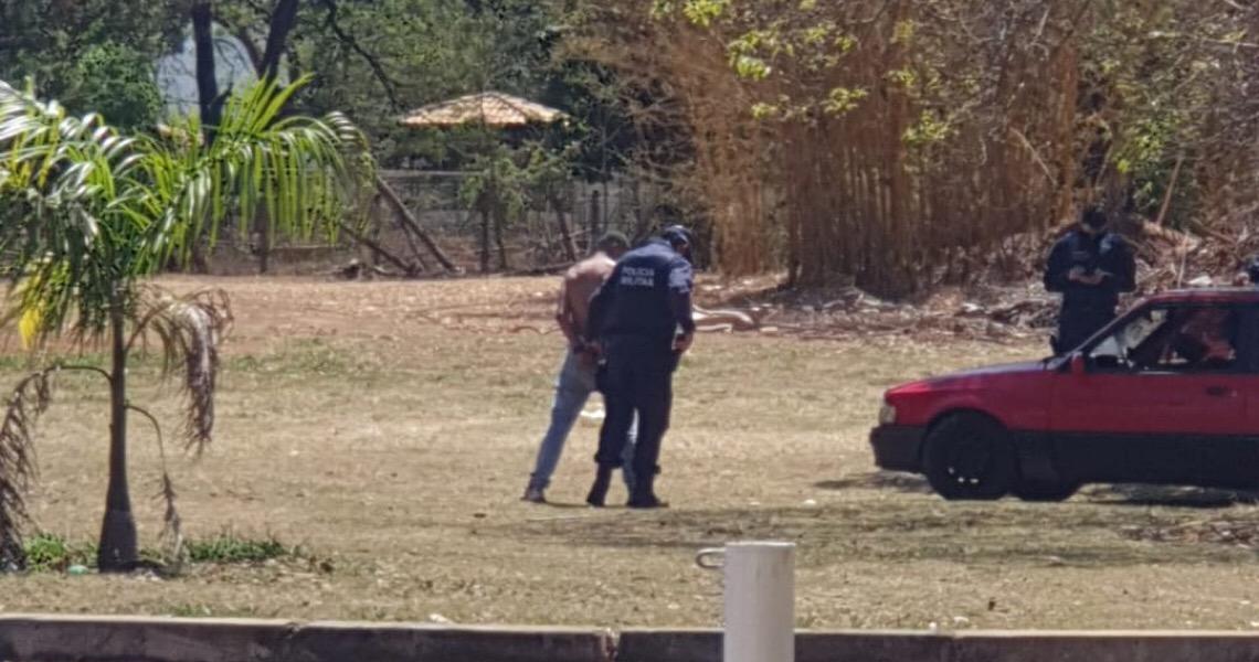 Homem é preso após tentar queimar ex-namorada viva no DF. Caso ocorreu no Lago Norte