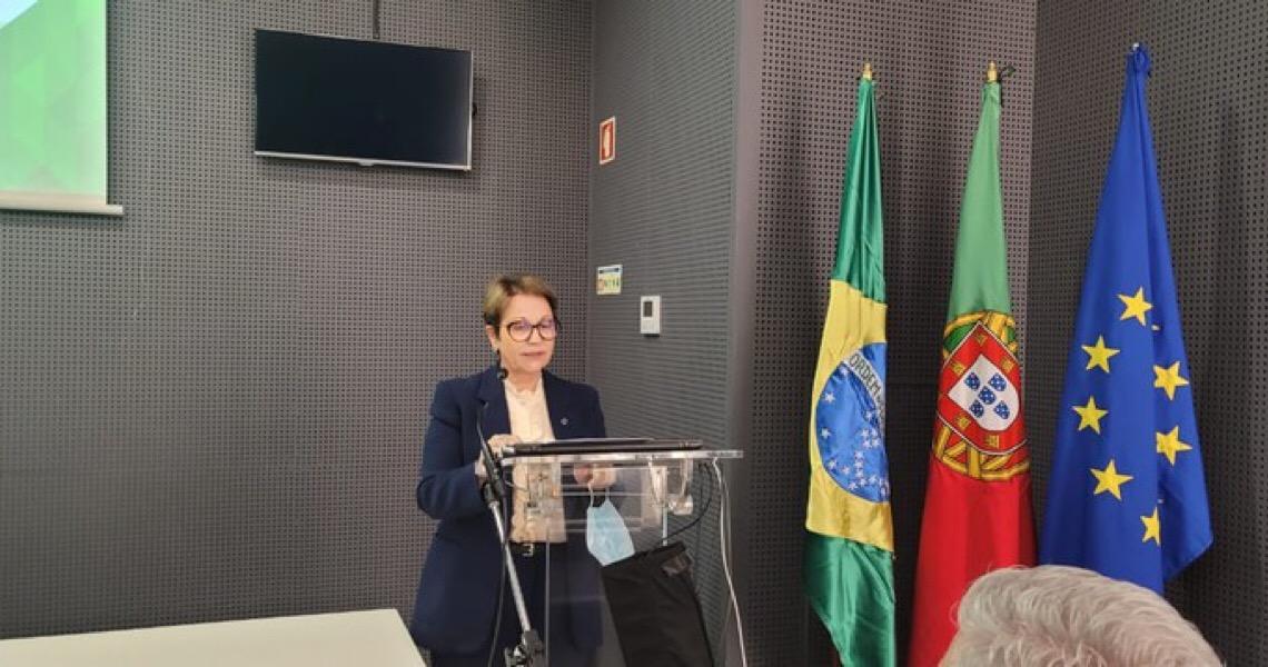 Em seminário com Tereza Cristina, ministra da Agricultura de Portugal defende aprovação do acordo Mercosul-UE
