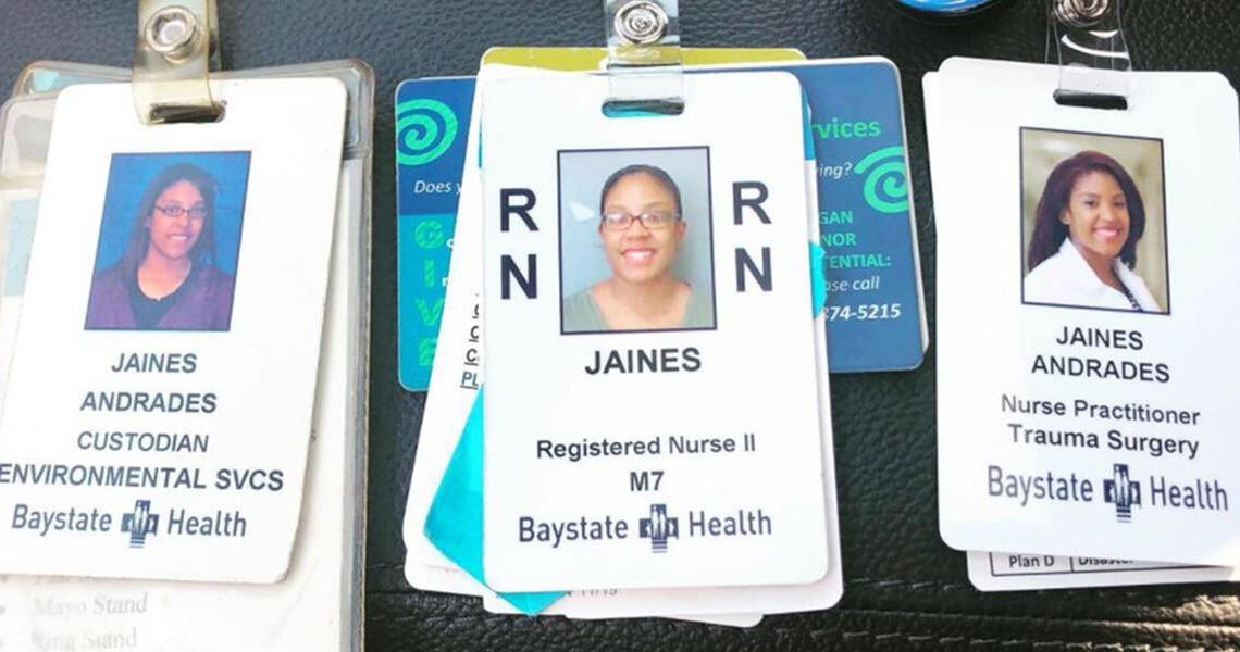 Enfermeira é promovida por hospital onde trabalhou como faxineira por dez anos