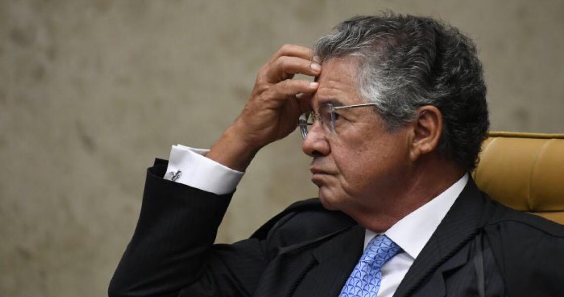 """Marco Aurélio ficou falando sozinho, nenhum """"garantista"""" teve coragem de defendê-lo"""