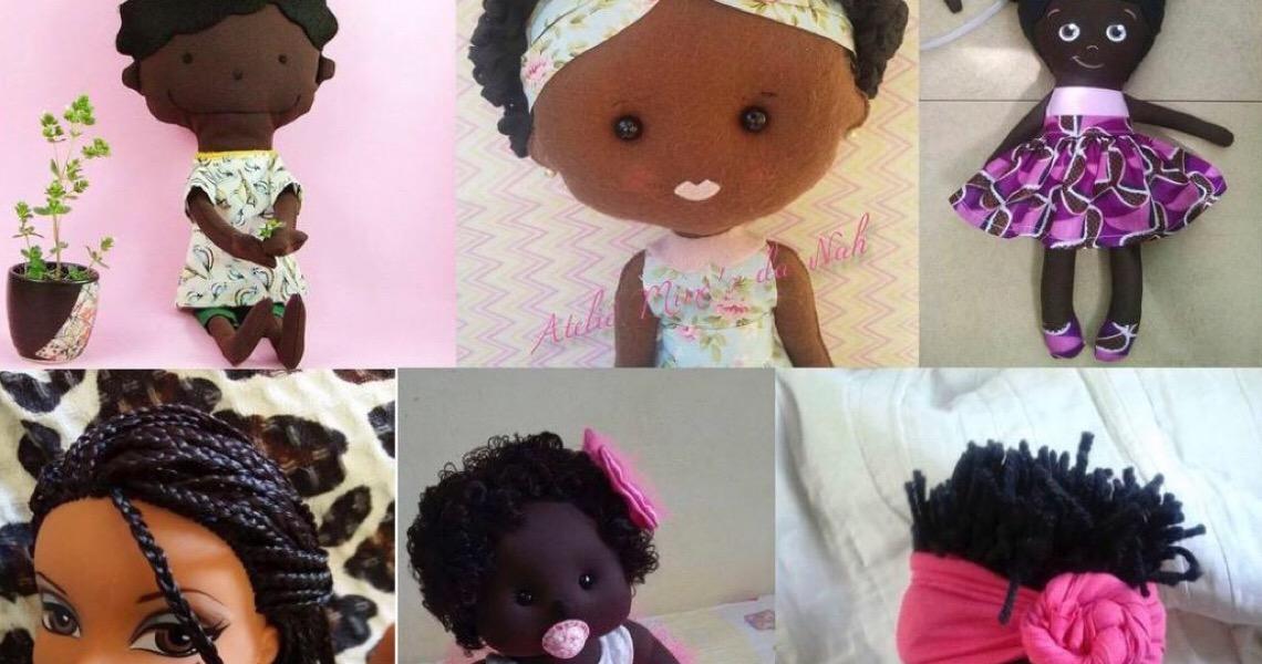 Bonecas negras representam 6% dos modelos disponíveis no mercado