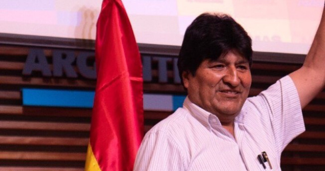 Evo Morales deixa a Argentina e vai para a Venezuela