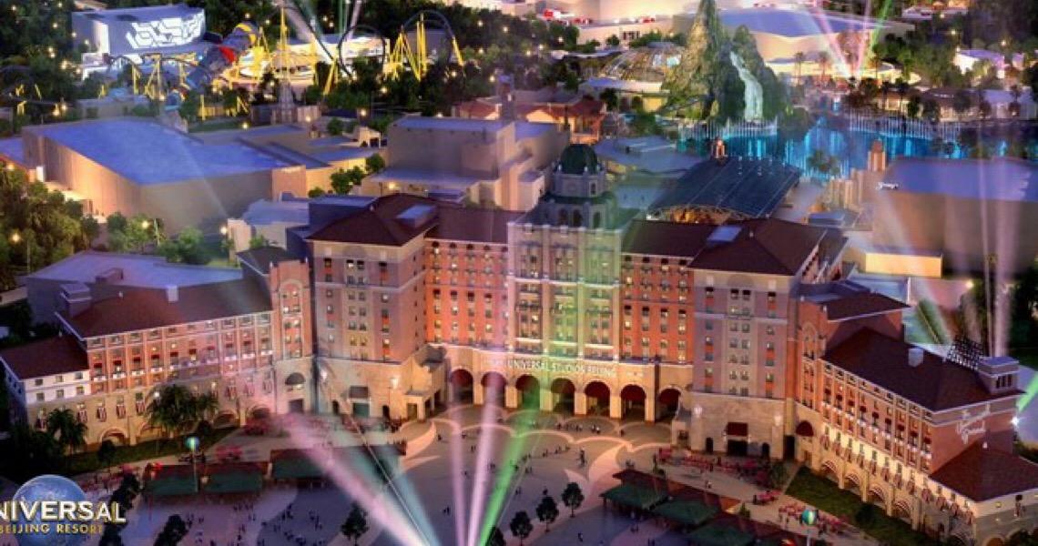 Universal Beijing Resort divulga detalhes do novo complexo de parque temático