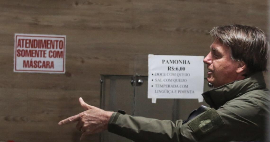 'Vai comprar na Venezuela', diz Bolsonaro a homem que reclamou de alta do arroz