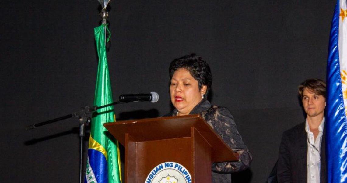 Embaixadora filipina que agrediu empregada exibiu filme sobre exploração de doméstica no Cine Brasília