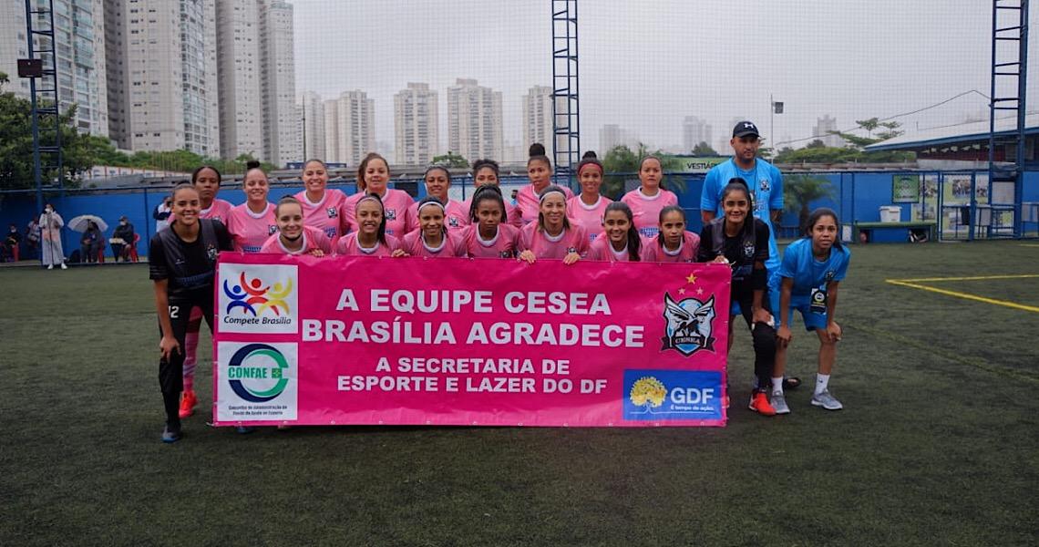 Futebol 7: Equipe feminina do DF ganha título e vai à Libertadores
