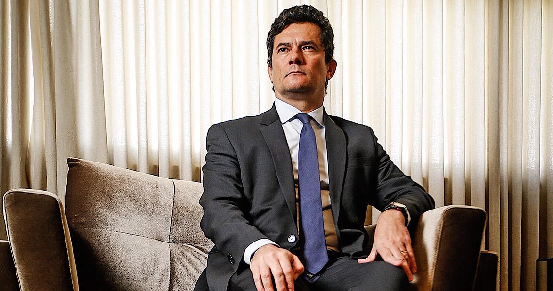 """Sérgio Moro nega candidatura, mas defende que haja """"alternativas não polarizadas"""" em 2022"""