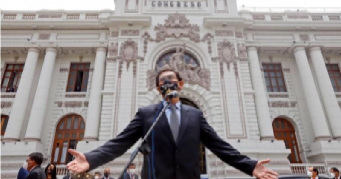 Congresso do Peru aprova destituição do presidente por 'incapacidade moral'