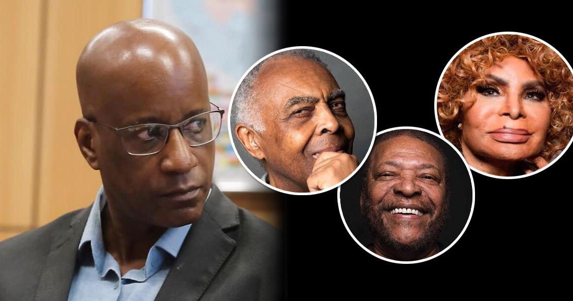 Fundação Palmares quer tirar Gilberto Gil, Elza Soares e Martinho da Vila de lista de personalidades negras