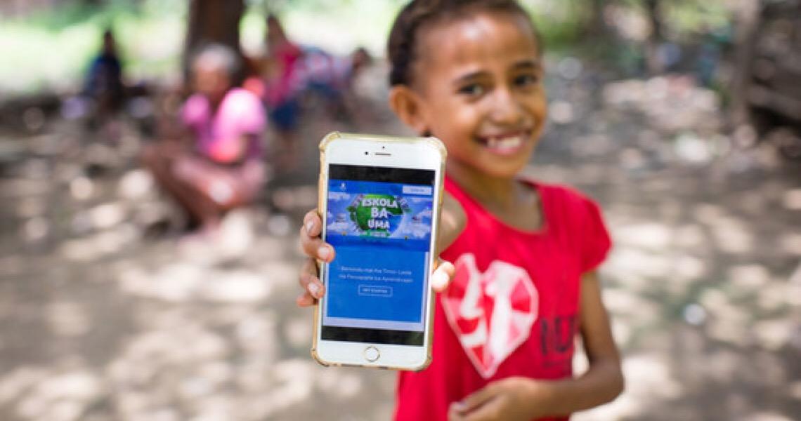 Unicef em Portugal apoia retorno seguro de alunos à escola em Timor-Leste