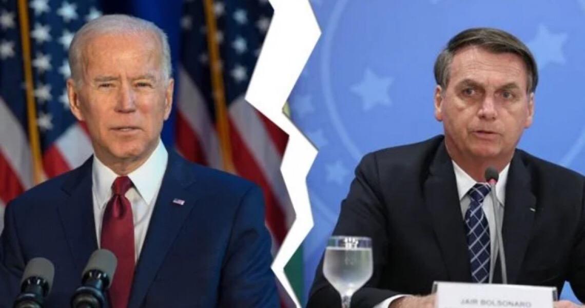Bolsonaro vs Biden: A boiada vai ter de parar