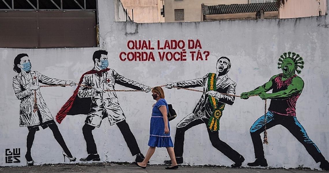 Brasil quase dobra média de mortes por covid em uma semana; veja situação nas regiões