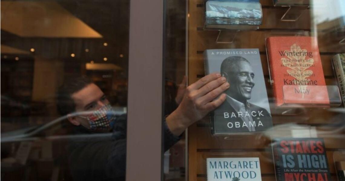 'Uma Terra Prometida', de Obama, deve se tornar o livro de memórias de um presidente mais vendido