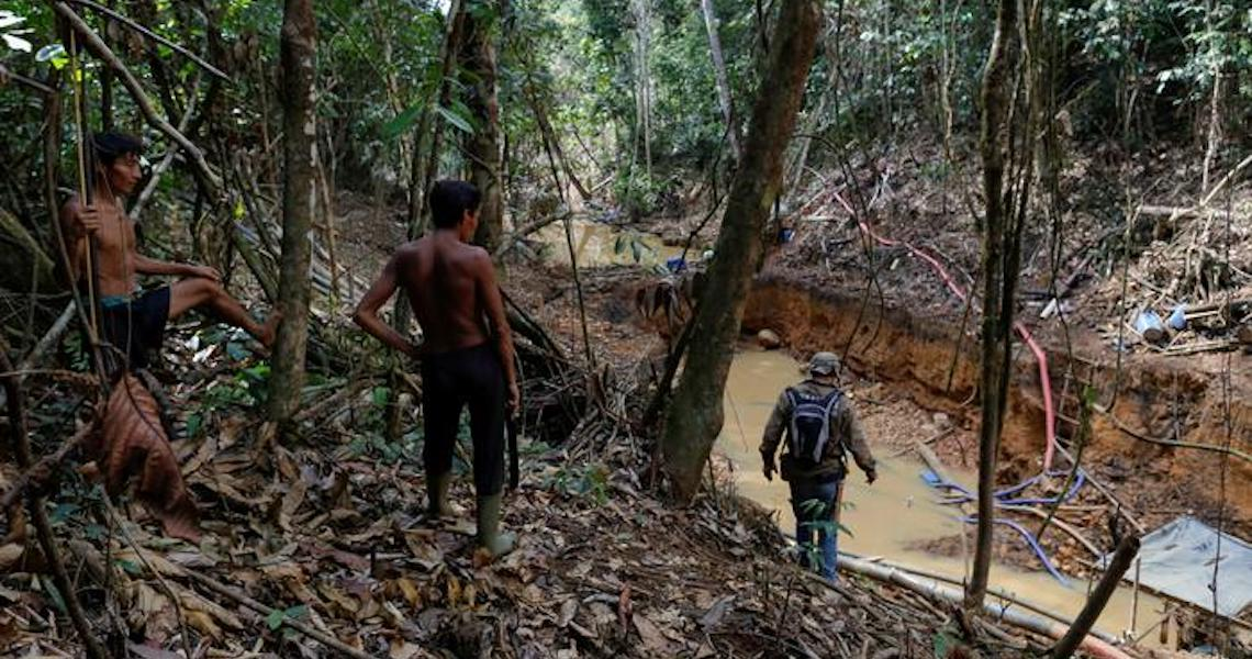 Coronavírus avança rapidamente na maior reserva  Indígena Yanomami do Brasil