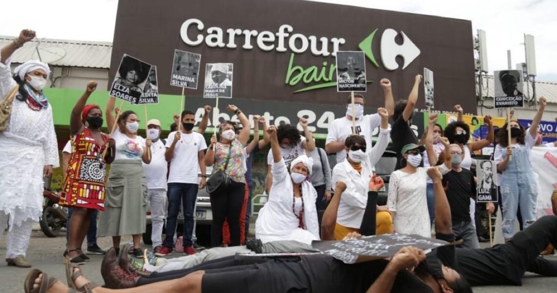 Morte no Carrefour: Fundação Palmares e unidade na 402 Sul têm protestos