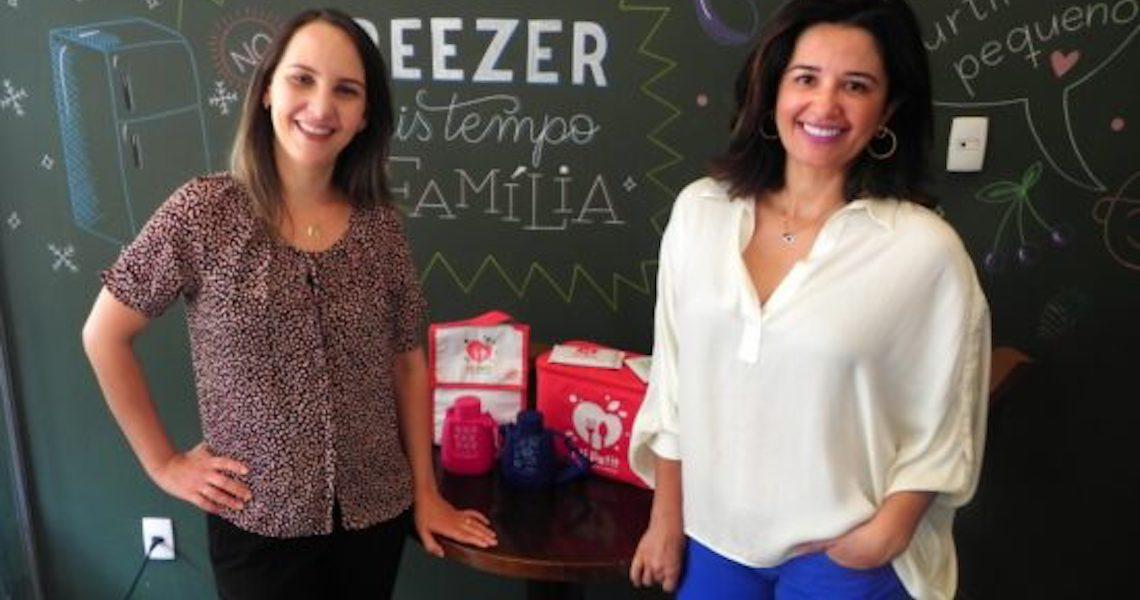 Engenheira civil cria empresa de marmita para bebês