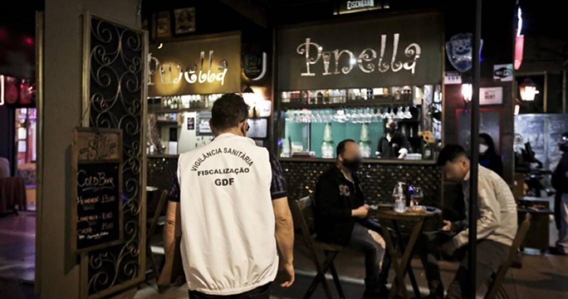 Decreto libera bares e restaurantes do DF após as 23h no Natal e no Réveillon