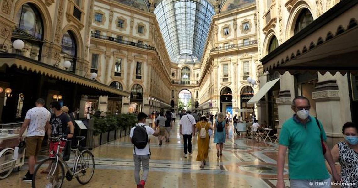 Itália proíbe viagens no Natal e Ano Novo