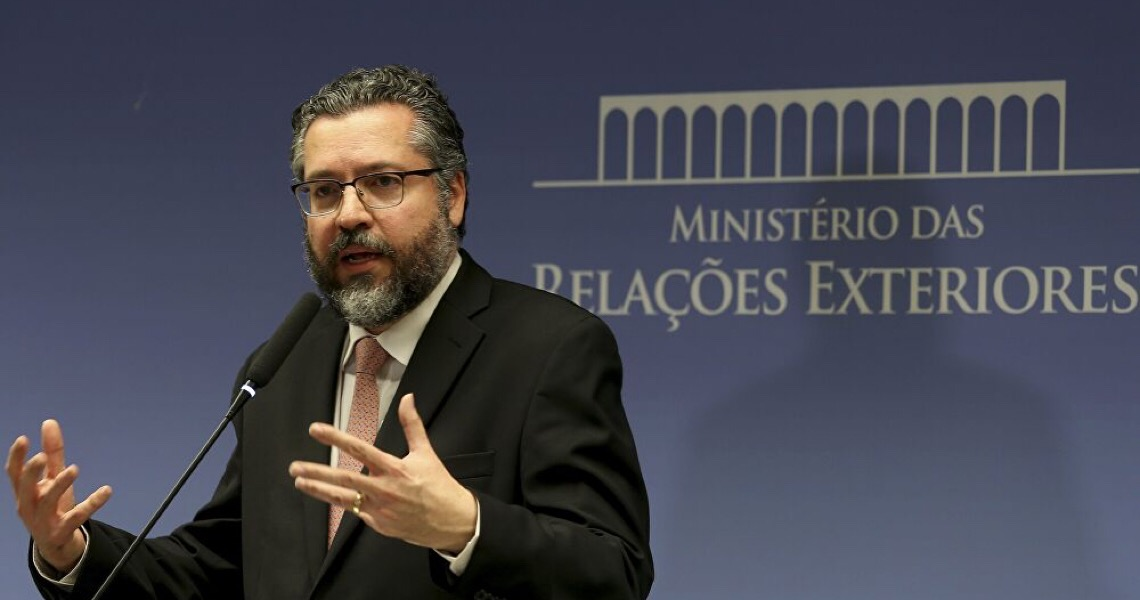 Chanceler brasileiro cita teoria da conspiração envolvendo a covid-19 após falar na ONU