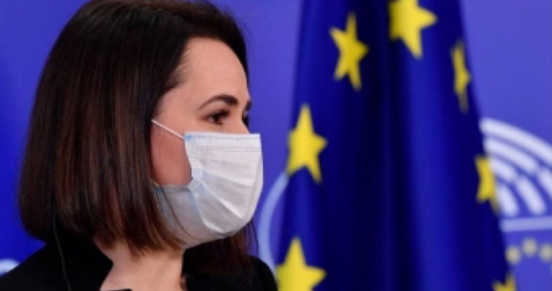 Mulheres da oposição ao governo da Bielo-Rússia recebem prêmio da União Europeia
