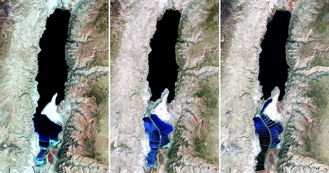 Mar Morto está secando, e pode até desaparecer