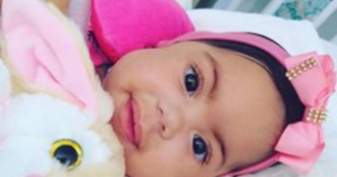 Ajude Marju: Bebê com AME está internada há 8 meses no DF à espera da cura