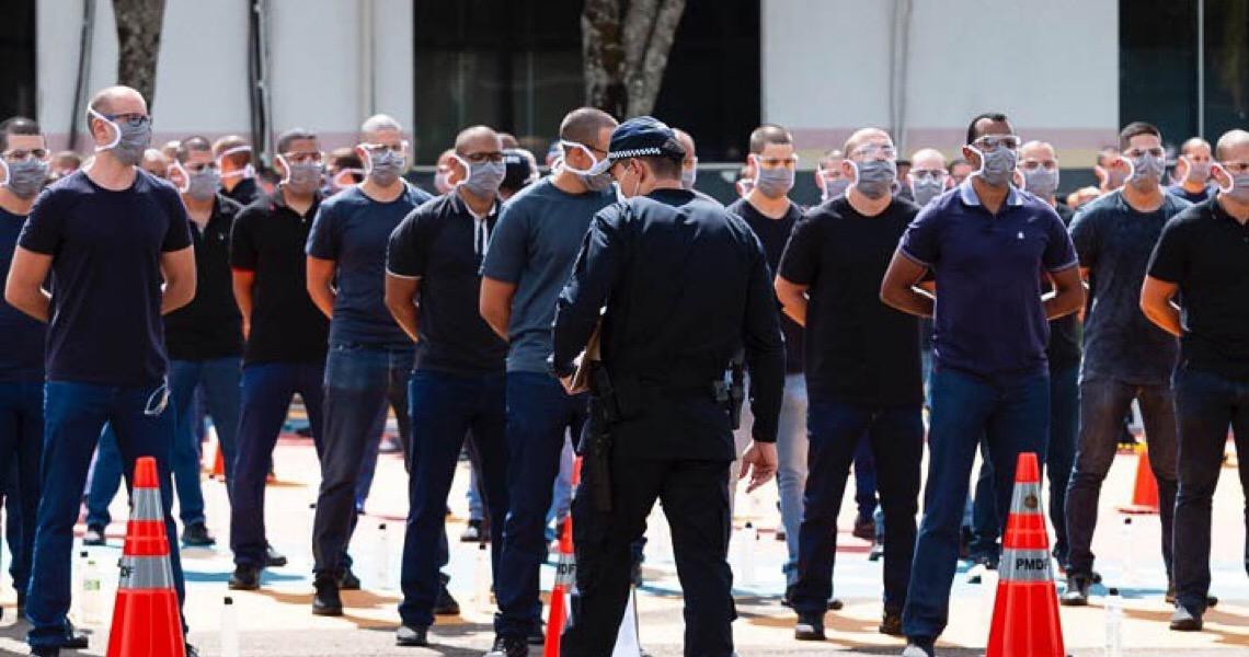 Polícia Militar do Distrito Federal começa a preparar mais 500 policiais