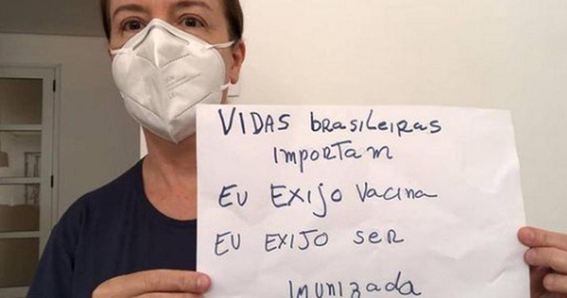 """Bolsonaristas arrependidos agora fazem campanha pela vacina: """"exijo ser imunizada"""""""