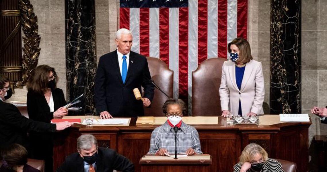 Após invasão do Capitólio por apoiadores de Trump, Congresso dos EUA certifica vitória de Biden
