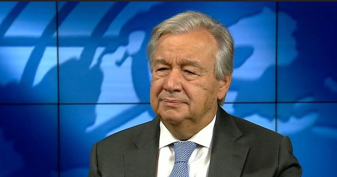 António Guterres diz que pandemia aumentou desafios para paz e segurança