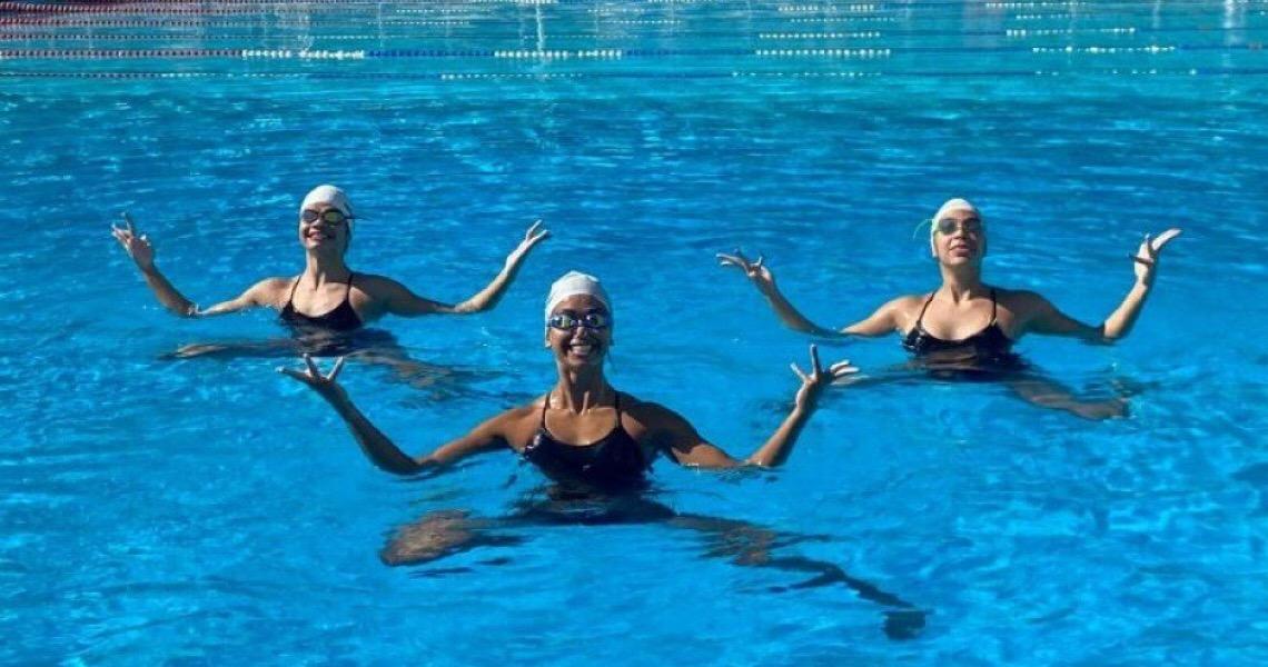 Três estudantes de Brasília brilham no nado artístico nas seletivas nacionais