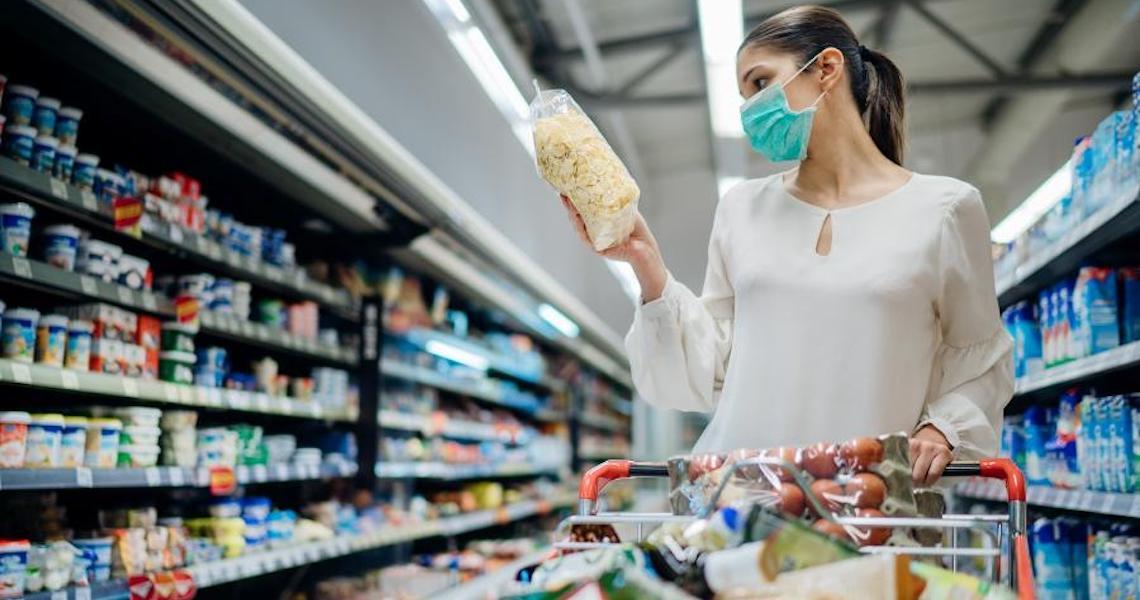 Puxada por alimentos, inflação em 2020 tem maior taxa desde 2016