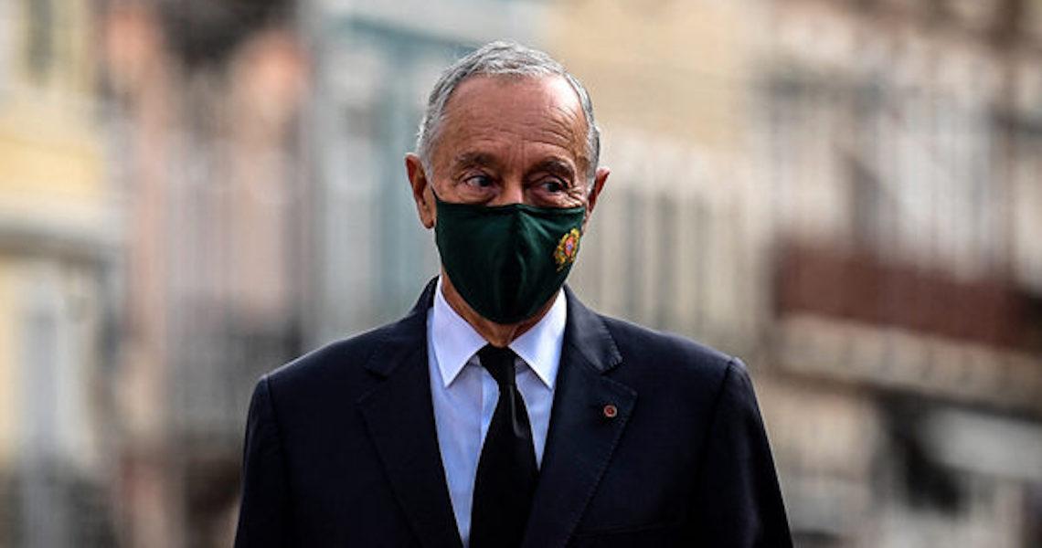Presidente de Portugal testa negativo para Covid-19
