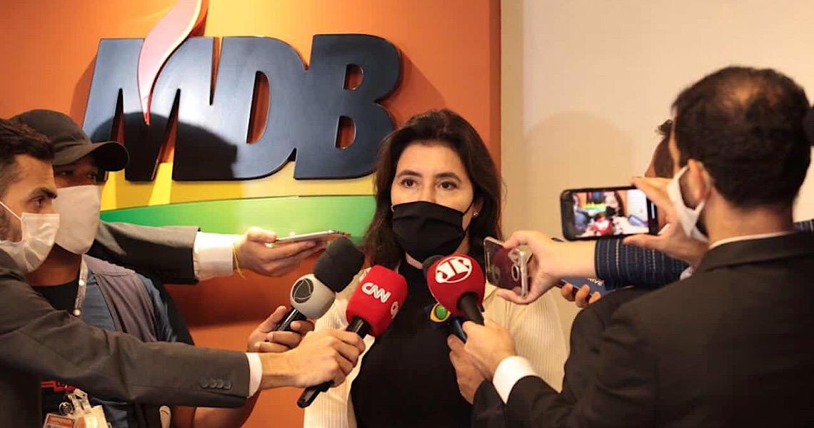 No Senado, maior defeito de Simone Tebet é ser favorável à luta contra a corrupção