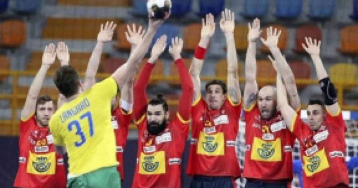 Brasil arranca empate heroico com a Espanha no Mundial de Handebol Masculino